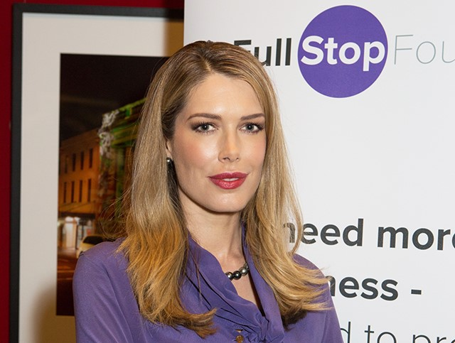 Tara Moss announced as Patron of the Full Stop Foundation