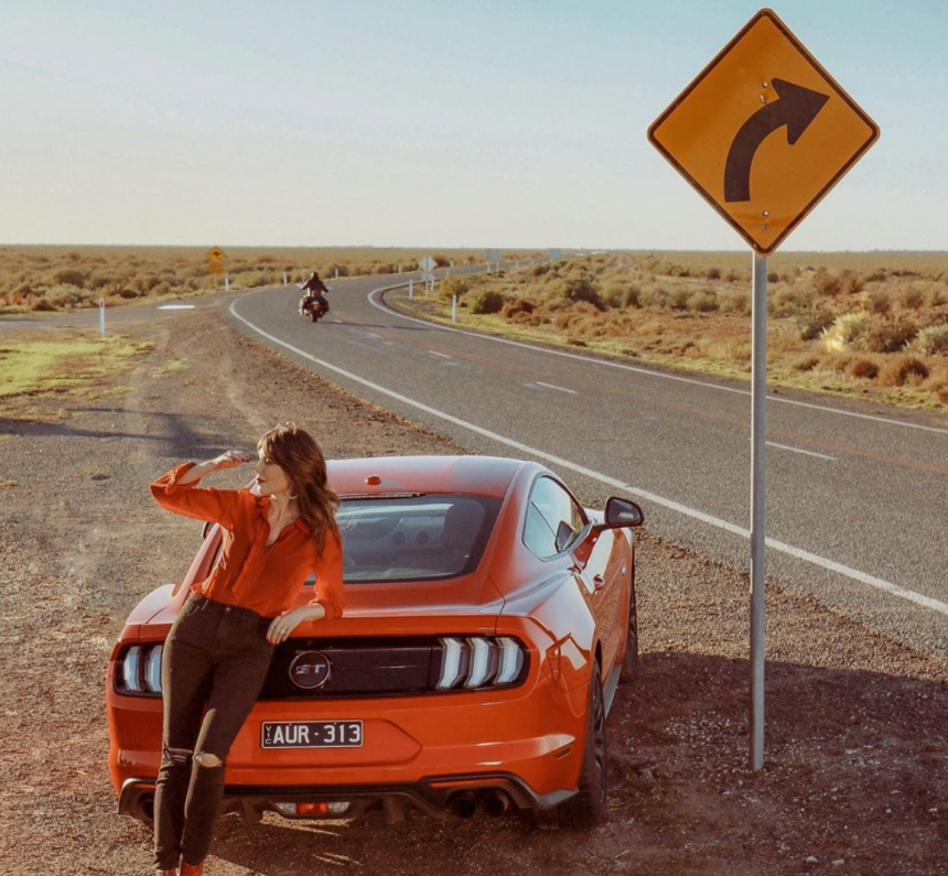 Tara Moss fronts new Ford Mustang campaign