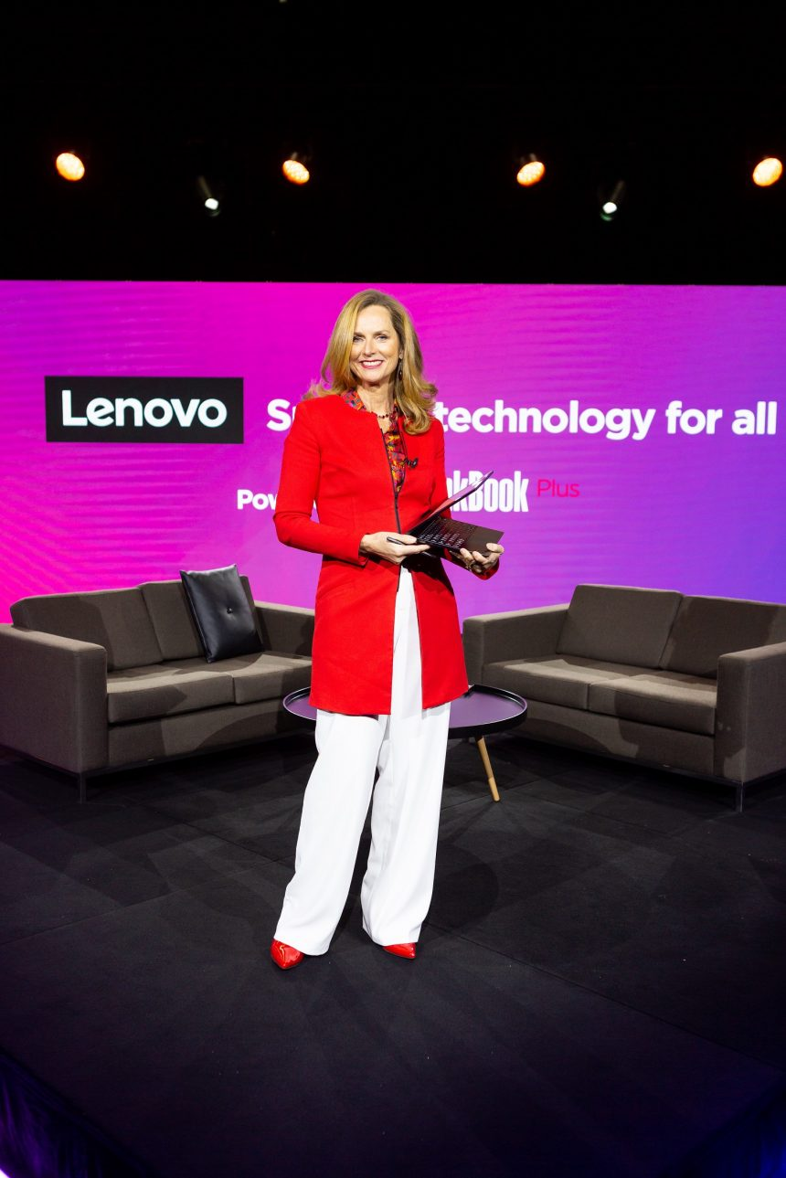 Naomi Simson hosts Masterclass for Lenovo